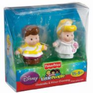 Fisher Price Little People Disney - Cinderella & Prince Charming